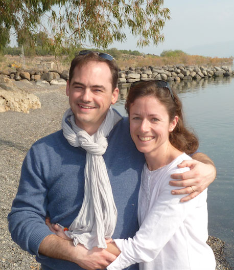 Ségolène et Edouard Nègre, 38 et 39 ans, 15 ans de mariage, paroissiens depuis 14 ans.