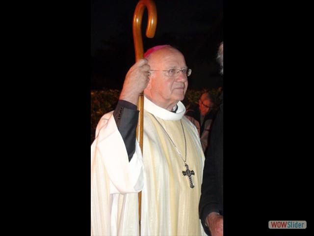 Mgr Patenôtre, évêque de Sens-Auxerre prside le Pardon
