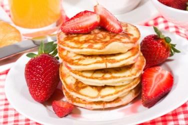 pancakes fragola