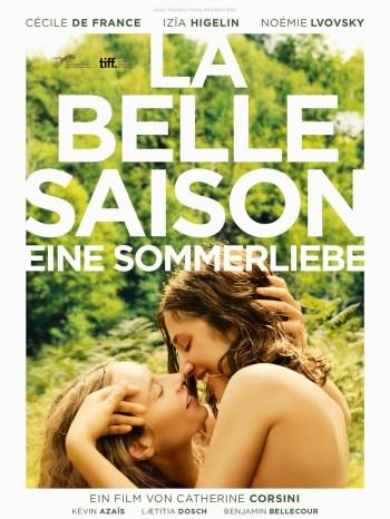Cécile de France als Carole und Izïa Higelin als Delphine in «La Belle Saison – Eine Sommerliebe» von Catherine Corsini | Foto: Alamode Film