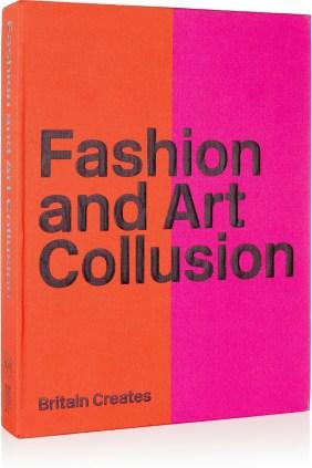 FASHION AND ART COLLUSION Coffret livre et affiches Britain Creates, ABRAMS. www.net-a-porter.com