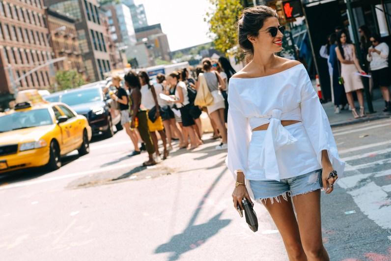 STREET STYLE FASHION WEEK NEW YORK SS15