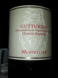 Degustazione: Gutturnio Classico Superiore 2009, Montesissa