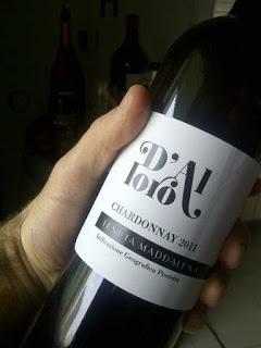 Degustazione: Chardonnay D'Alloro Alto Mincio igp 2011, Tenuta Maddalena