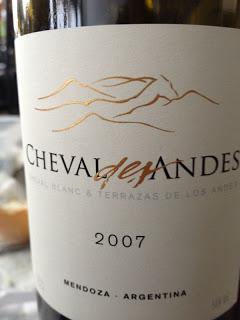 Degustazione: Cheval des Andes 2007, Chateau Cheval Blanc & Terrazas de los Andes