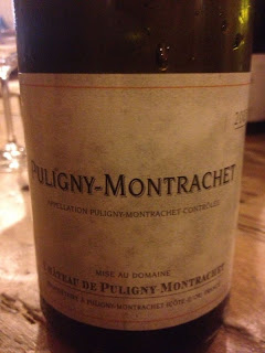 Seconda serata Bourgogne con Puligny Montrachet, Chambolle Musigny, Beaune Les Greves ecc