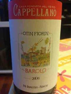 Degustazione: Otin Fiorin 2006, Cappellano