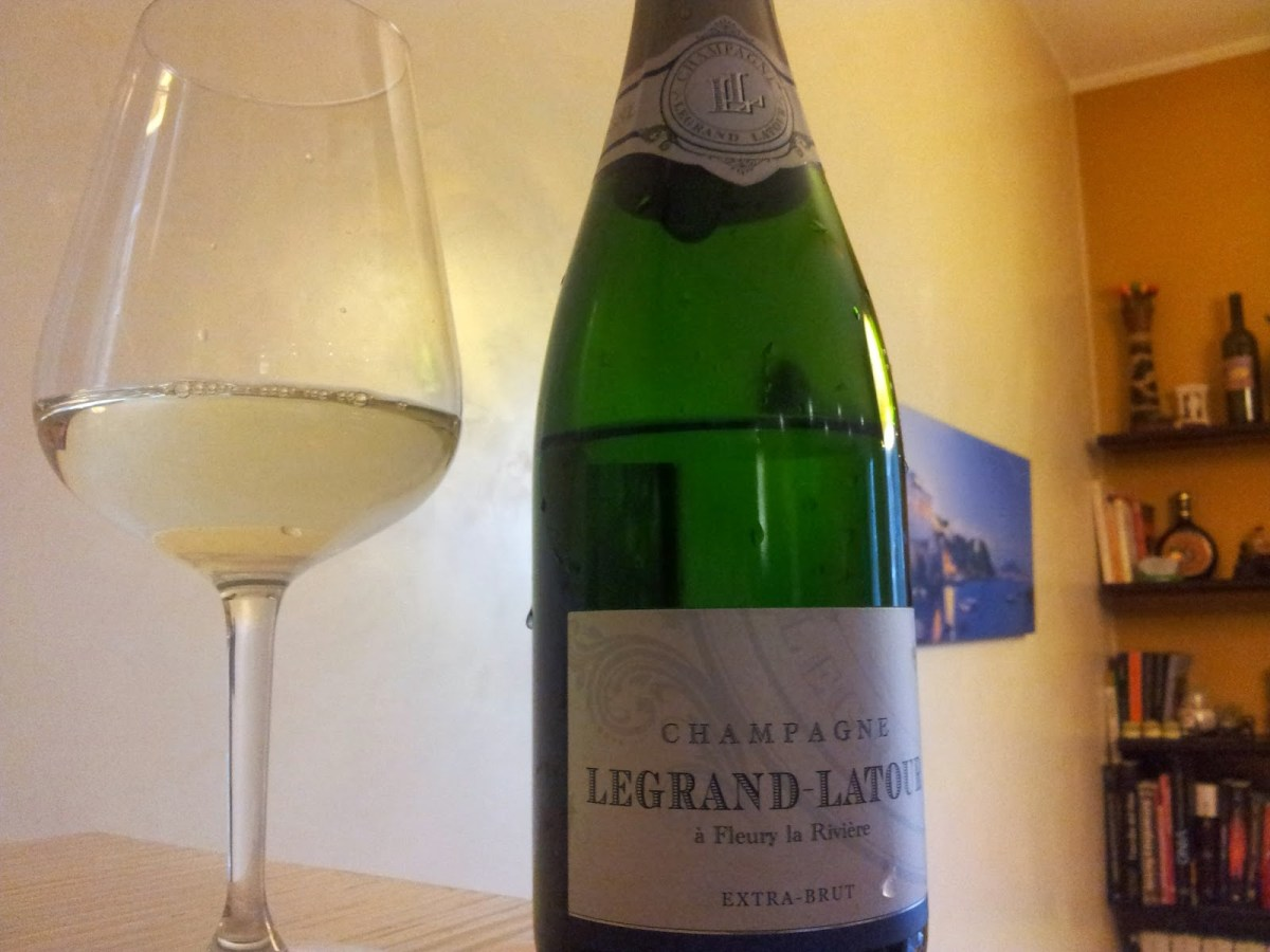 Champagne Legrand Latour Extra Brut. Elementare, Watson.