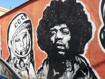 Gagarin e Hendrix, JB Rock, Wall of Fame