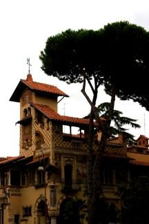 Villa delle fate, piazza Mincio, quartiere Coppedè