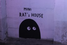 Laurina Paperina, Mini Rat's House, outdoor Urban Art Festival Dogana di San Lorenzo