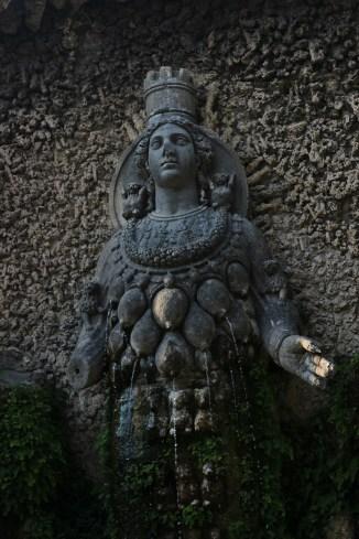 Fontana della Natura o dell'Abbondanza, villa d'Este, Tivoli