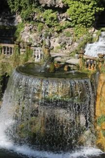 Fontana dell'Ovato, cascata, villa d'Este