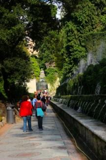 Viale delle Cento Fontane, villa d'Este, Tivoli