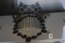 diadema e collana in ferro, museo napoleonico