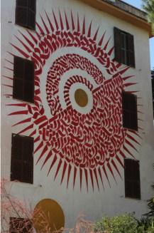 Alme Sol Invictus, Big city Life street art Tor Marancia