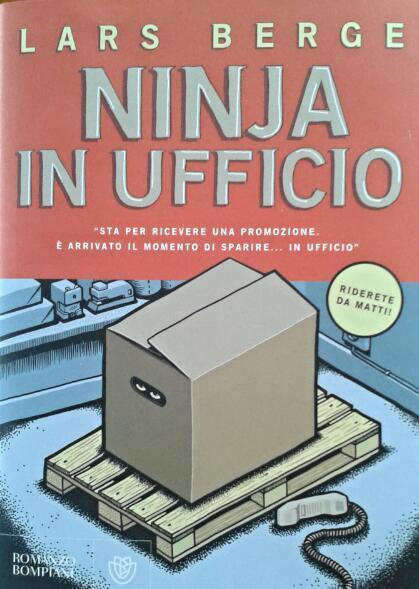 Ninja in ufficio, poche risate con Lars Berge
