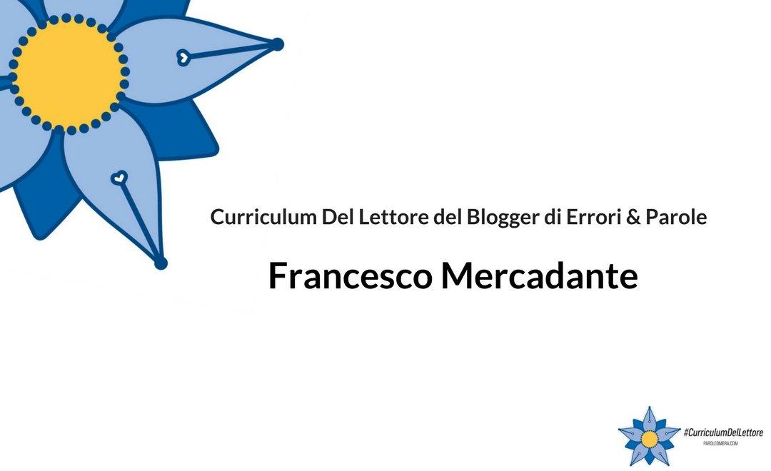Al mare con Stevenson e il Curriculum Del Lettore di Francesco Mercadante