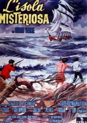 L'isola misteriosa, Jules Verne