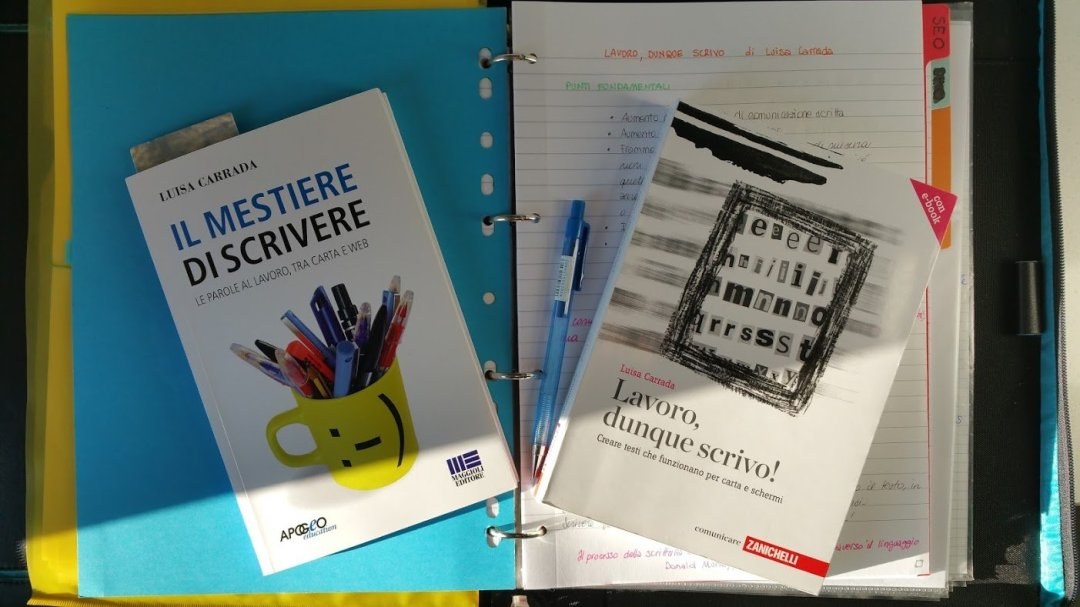 Web writing: leggere i libri di Luisa Carrada
