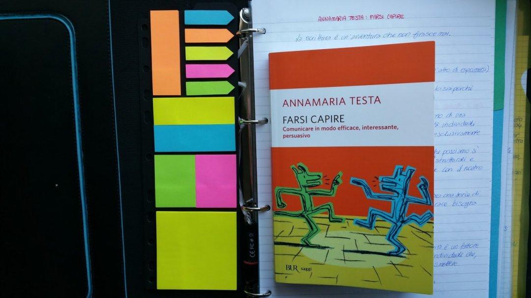 Leggere: da Luisa Carrada a Farsi capire di Annamaria Testa