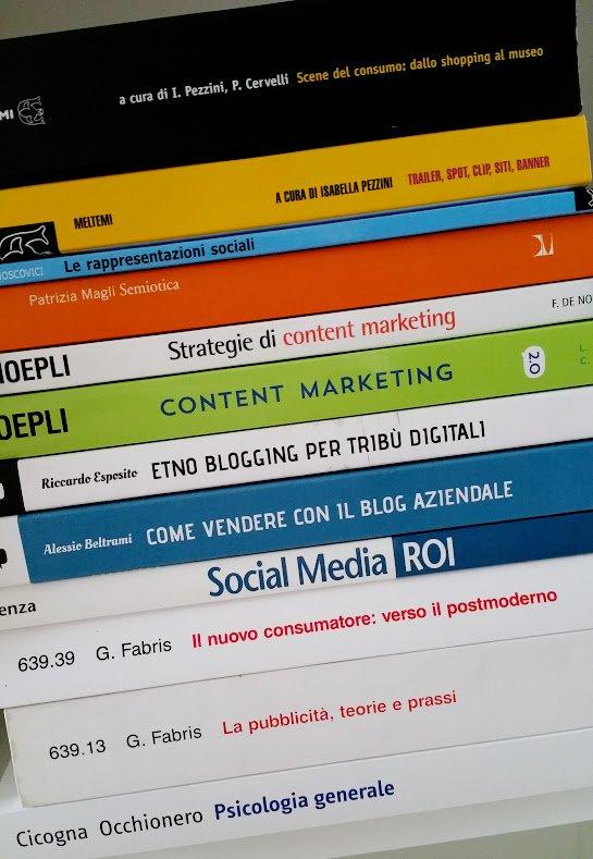 Libri professionali su comunicazione, social e blogging