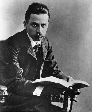 Rainer Maria Rilke (immagine via Wikipedia)
