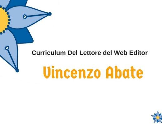 Curriculum Del Lettore di Vincenzo Abate: libri e letture da Keliweb