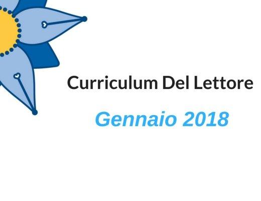 I Curriculum Del Lettore di gennaio 2018
