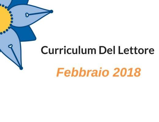 Febbraio e Curriculum del Lettore: dai percorsi ai dettagli di lettura