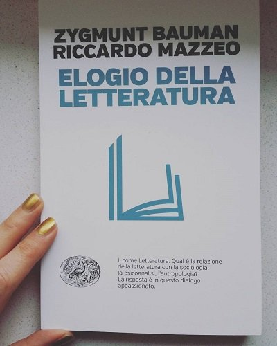 Elogio della letteratura, Bauman - Mazzeo, Einaudi