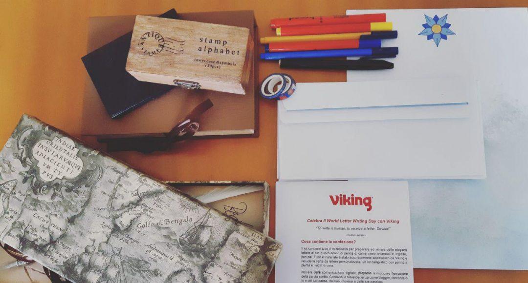 World Letter Writing Day con Viking Italia: rivivere l'esperienza di scrivere una lettera