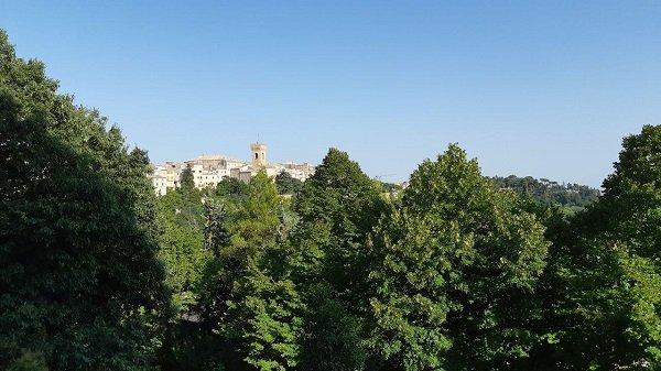 scorcio di Recanati, Marche
