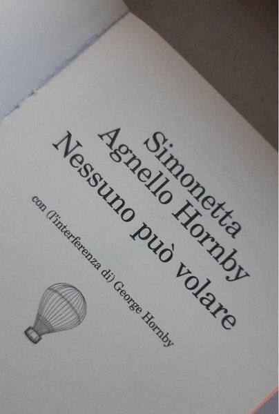 Nessuno può volare di Simonetta Agnello Hornby, Feltrinelli