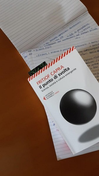 Il punto di svolta, Fritjof Capra: appunti di lettura