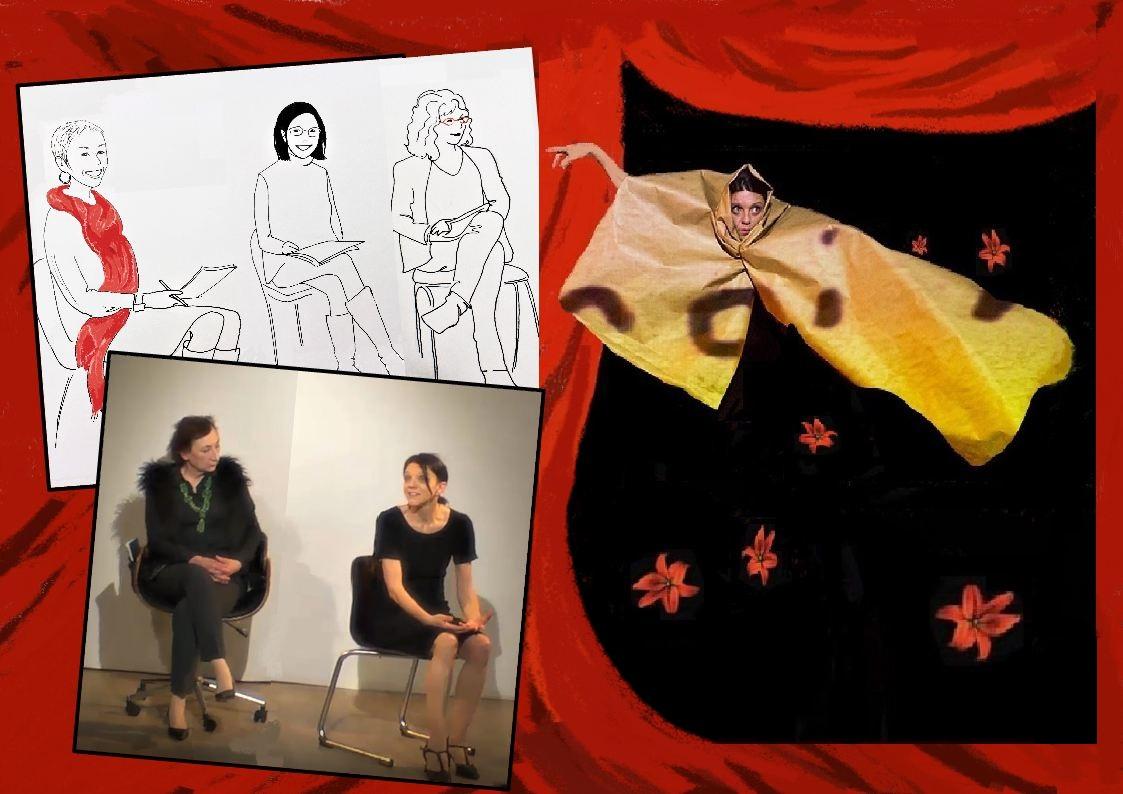 Caroline de Diesbach et Guilaine Guilaumé «Du divan à la scène.»