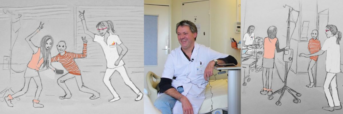 David Briard «Bouffée d'oxygène en pédiatrie»