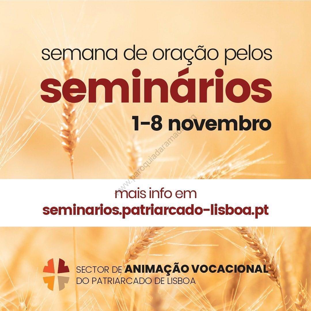 Semana de oração pelos seminários