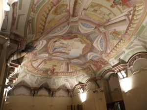 Fresco ceiling of St. Michael