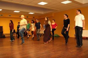 Irish dancing class in Prague