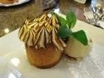dessert at Cafe' Imperial, Prague