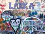 Lennon wall for peace