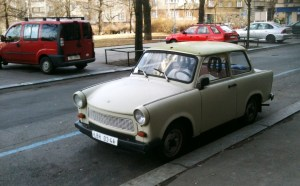 Russian Lada in Prague