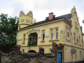 house of a silver Baron in Kutna Hora