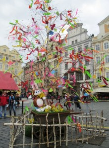 Easter Market at Old Town Square, Prague