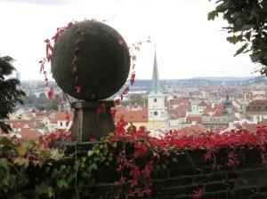 Rampart Gardens at Prague Castle