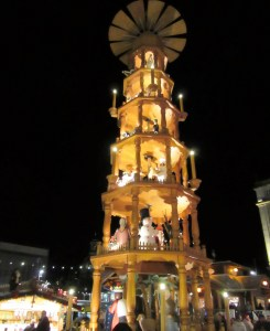 Dresden Christmas market pyramid
