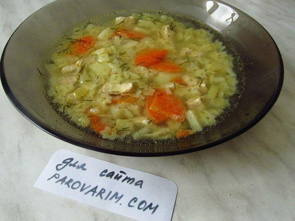 Куриный суп с вермишелью в мультиварке – рецепт ...