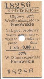 Bilety PKP gminy Kolonowskie (1)