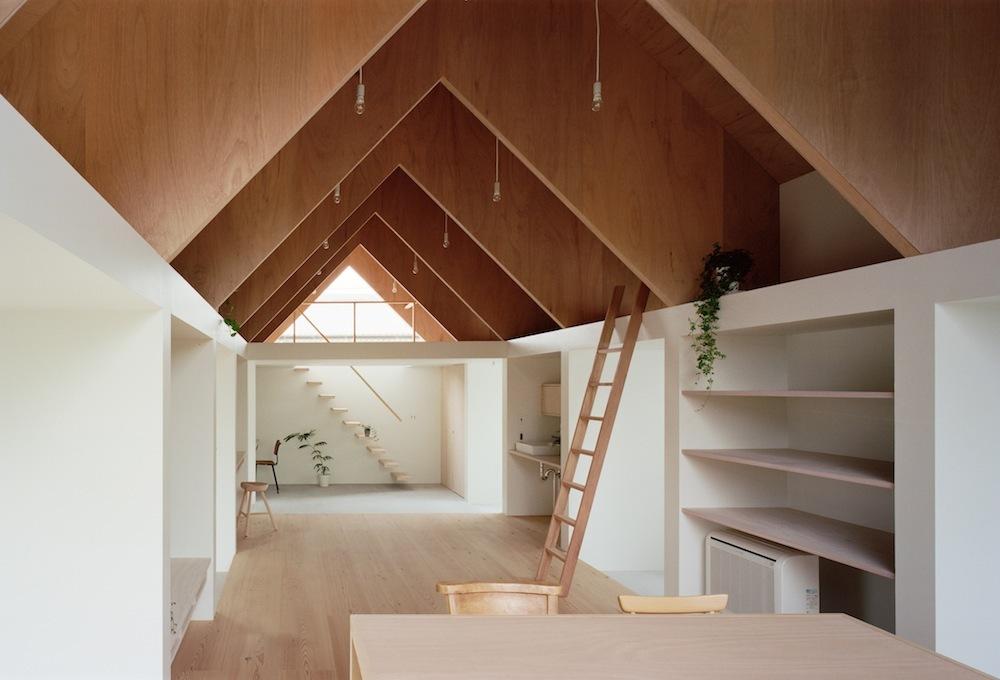 Architecture d'intérieur, style japonais.
